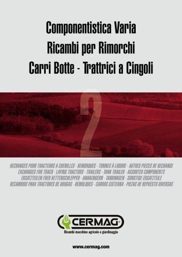 Componentistica Varia Ricambi per Rimorchi Carri Botte ... - Cermag