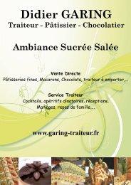 Didier GARING Traiteur - Pâtissier