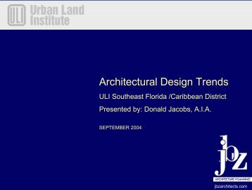Architectural Design Trends - Home