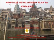 HERITAGE DEVELOPMENT PLAN for VARANASI