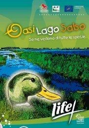 Quaderno didattico - progetto LIFE + Natura e Biodiversità 2007