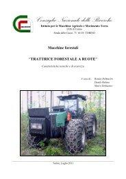 Macchine forestali - Imamoter - Cnr