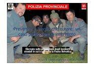 Prevenire è meglio che curare - Provincia di Pistoia