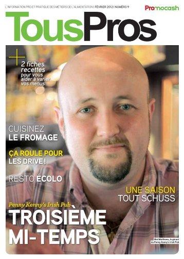 Pros n°9 - FÉVRIER 2012 Télécharger le PDF - Promocash