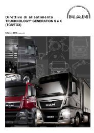 TRUCKNOLOGY® GENERATION S e X (TGS/TGX) - MANTED