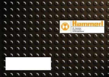 PE - Baufolien Noppenmatten Schalungszubehör - Hammerl