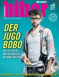 biber - Ausgabe JUNI 2013 - Magazin für Menschen mit und ohne Migrationshintergrund