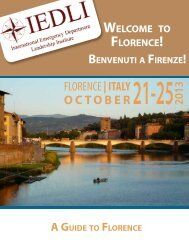 Florence Travel Guide - IEDLI.org