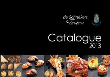 brochure complète - De Schnékert - Traiteur