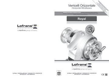 Verricelli Orizzontale - Lofrans