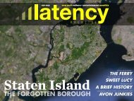 avon Junkies - Latency Magazine