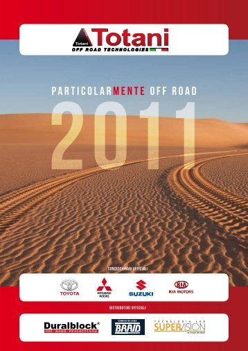 Catalogo 2011 - Concessionarie Totani