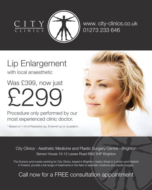 Lip Enlargement With Local Anaesthetic Performed