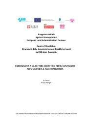 Filmografia a carattere didattico (pdf) - Città di Torino