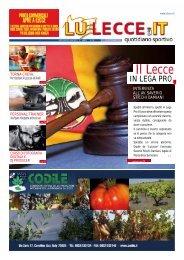 Responsabile territoriale risorse umane per la provincia di Lecce