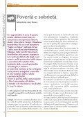 POVERTÀ E SOBRIETÀ - FMA Figlie di Maria Ausiliatrice - Page 6