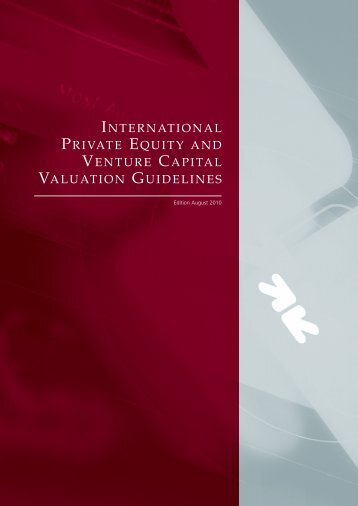 International Private Equity and Venture Capital Valuation ... - SECA