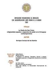 UNIVERSIDAD INTERNACIONAL - DSpace en la UNIA ...