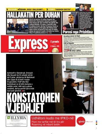 HALLAKATIN PER DUHAN - Gazeta Express