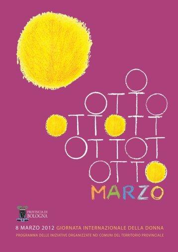 8 MARZO 2012 - Provincia di Bologna