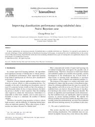 Improving classification performance using unlabeled data ... - Read