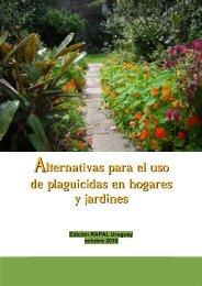 Alternativas para el uso de plaguicidas en ... - RAPAL - Uruguay