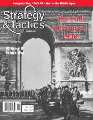 The Fall of France, 1940 - Strategy & Tactics Press