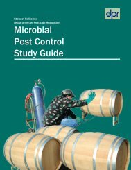 Microbial Pest Control Study Guide, PDF - California Department of ...