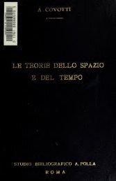 Le teorie dello spazio e del tempo nella filosofia greca fin ... - Index of