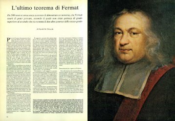 L'ultimo teorema di Fermat - Kataweb