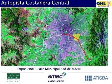 Autopista Costanera Central - Municipalidad de Macul