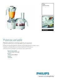 HR7750/01 Philips Robot da cucina