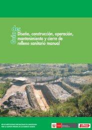 Guia de relleno sanitario manual - RedPeIA - Ministerio del Ambiente