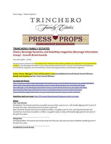 TRINCHERO FAMILY ESTATES - Home
