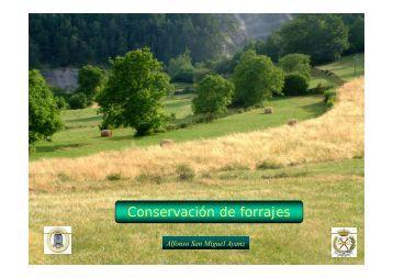 Conservación de forrajes