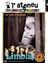 des. 2009 des. 09 - Ateneu Popular 9 Barris