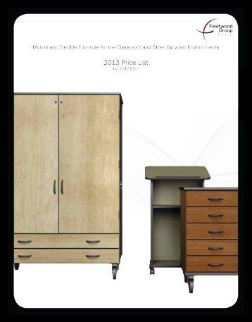 Price List - Fleetwood Furniture