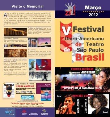 março de 2012 - Memorial da América Latina