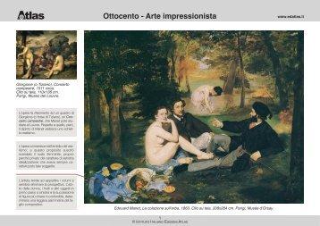 Ottocento - Arte impressionista - Libreria Web - Atlas