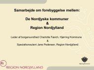 Charlotte Færch og Jane Pedersen - Nordjysksundhed.dk