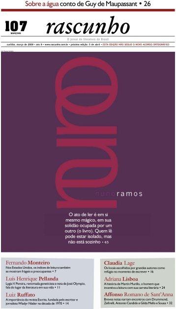 Edição 107 - Jornal Rascunho