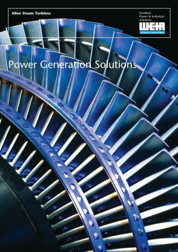 Allen Steam Turbines - Weir Power & Industrial Division
