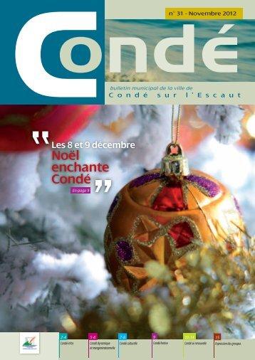 Noël enchante Condé - Mairie de Condé-sur-l'Escaut