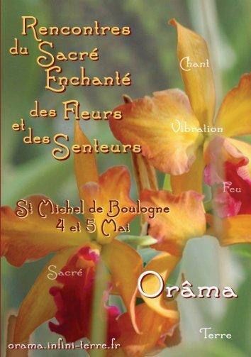 Télécharger le PDF des Rencontres du Sacré Enchanté, des fleurs ...