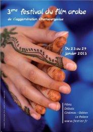 Téléchargez ici le programme du festival. - Association IMAD IBN ...