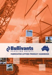 Fabricated LiFting Product Handbook - Bullivants