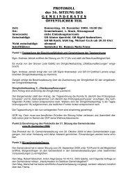34. Sitzung (527 KB) - .PDF - Gablitz