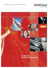 FleetFriend Imagebroschüre - FleetFriend Service GmbH