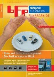Risk- und Schadenmanagement: Die Risiken stets im ... - Fuhrpark.de