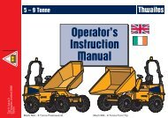 490-569 - 5-9 Tonne - Operator Manuals EU.pmd - Hire One